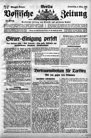 Vossische Zeitung vom 06.03.1930