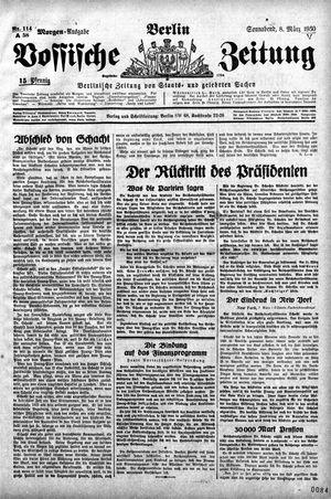 Vossische Zeitung vom 08.03.1930