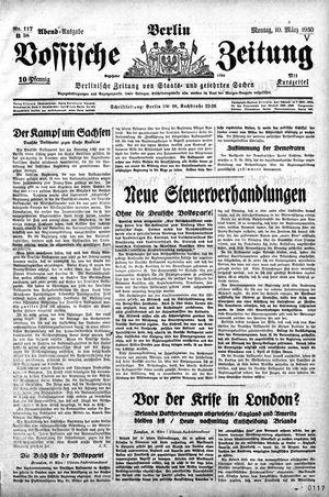 Vossische Zeitung vom 10.03.1930