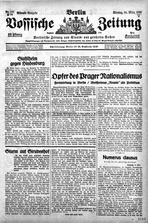 Vossische Zeitung vom 24.03.1930