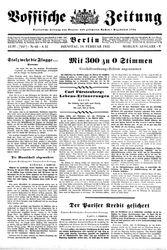 Vossische Zeitung (21.10.1931)