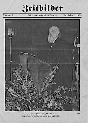 Vossische Zeitung on Feb 26, 1933