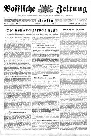 Vossische Zeitung vom 04.07.1933