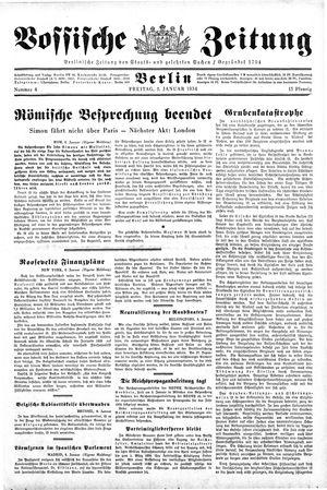 Vossische Zeitung vom 05.01.1934