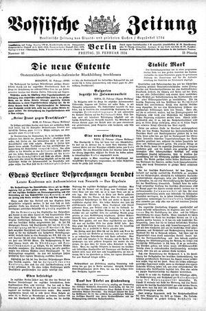 Vossische Zeitung on Feb 23, 1934