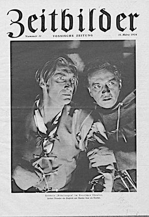 Vossische Zeitung vom 18.03.1934