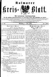 Kolmarer Kreisblatt