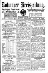 Kolmarer Kreiszeitung