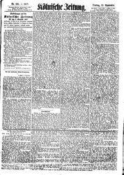Kölnische Zeitung (22.09.1857)