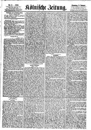 Kölnische Zeitung on Jan 3, 1858