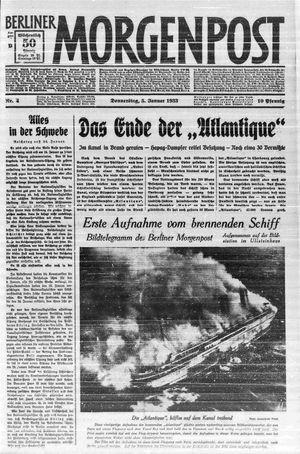 Berliner Morgenpost vom 05.01.1933