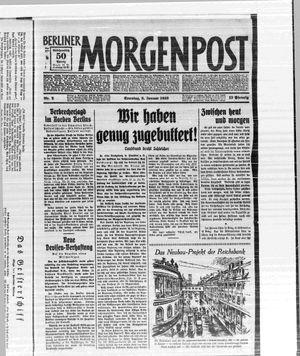 Berliner Morgenpost vom 08.01.1933