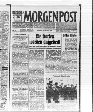 Berliner Morgenpost vom 10.01.1933