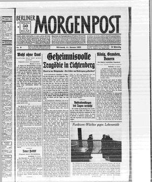 Berliner Morgenpost vom 11.01.1933