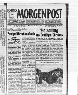 Berliner Morgenpost vom 12.01.1933