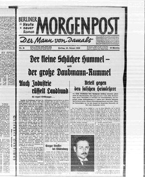 Berliner Morgenpost vom 13.01.1933