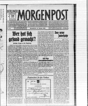 Berliner Morgenpost vom 14.01.1933