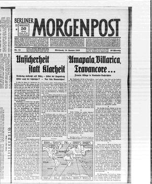 Berliner Morgenpost vom 18.01.1933