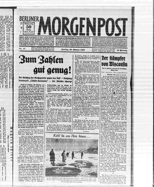 Berliner Morgenpost vom 20.01.1933