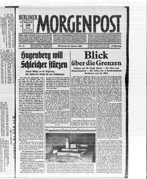 Berliner Morgenpost on Jan 25, 1933