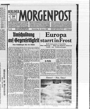 Berliner Morgenpost vom 26.01.1933