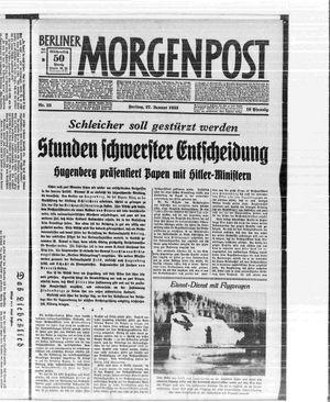 Berliner Morgenpost vom 27.01.1933