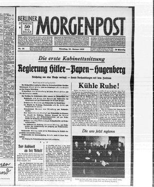 Berliner Morgenpost vom 31.01.1933