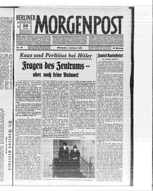 Berliner Morgenpost vom 01.02.1933
