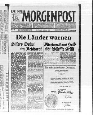Berliner Morgenpost vom 03.02.1933