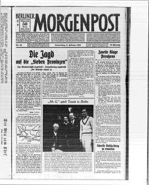 Berliner Morgenpost vom 09.02.1933