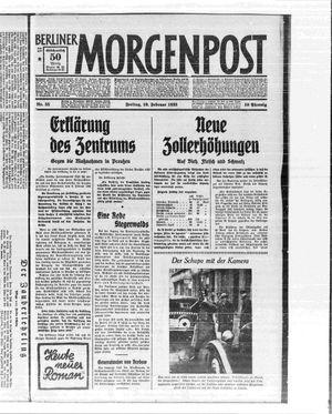 Berliner Morgenpost vom 10.02.1933