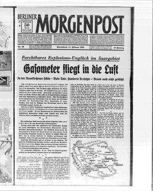 Berliner Morgenpost vom 11.02.1933