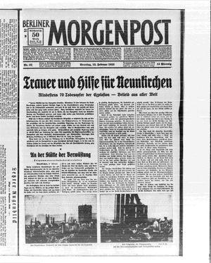Berliner Morgenpost vom 12.02.1933