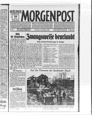 Berliner Morgenpost vom 14.02.1933