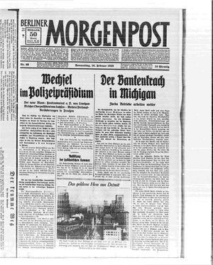 Berliner Morgenpost on Feb 16, 1933