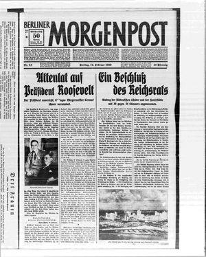 Berliner Morgenpost vom 17.02.1933