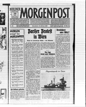 Berliner Morgenpost vom 18.02.1933