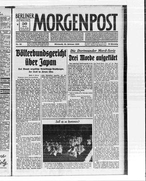 Berliner Morgenpost vom 22.02.1933