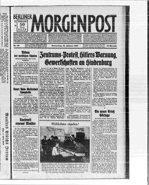 Berliner Morgenpost vom 23.02.1933