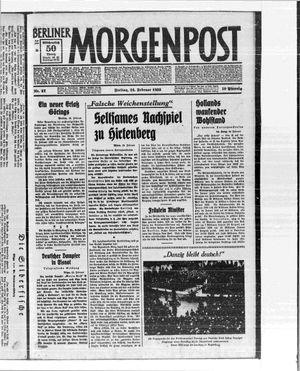 Berliner Morgenpost on Feb 24, 1933