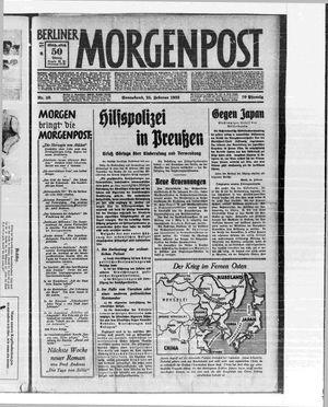 Berliner Morgenpost vom 25.02.1933