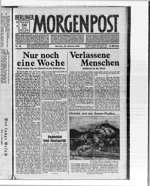 Berliner Morgenpost on Feb 26, 1933