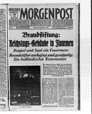 Berliner Morgenpost vom 28.02.1933