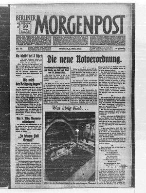 Berliner Morgenpost vom 01.03.1933