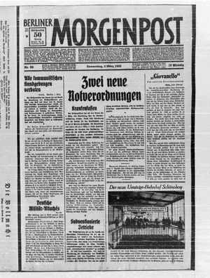 Berliner Morgenpost vom 02.03.1933