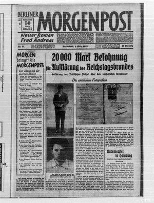 Berliner Morgenpost vom 04.03.1933
