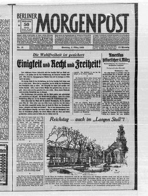 Berliner Morgenpost vom 05.03.1933