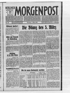 Berliner Morgenpost vom 07.03.1933