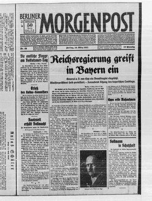 Berliner Morgenpost vom 10.03.1933