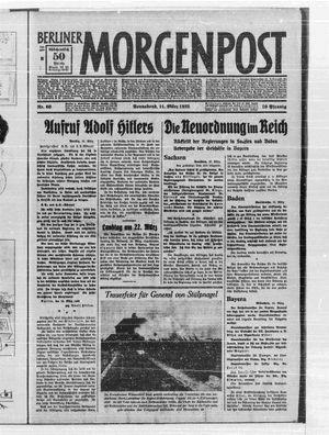 Berliner Morgenpost vom 11.03.1933